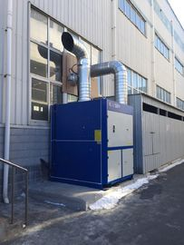 Outside installation welding fume precipitator system with IP65