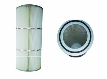 Precise Dust Collector Filter Cartridge , EPTFE Coated Membrane Filter Cartridge